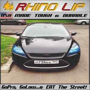 FORD * CUSTOM Front Bumper Splitter Lip MUSTANG FOCUS FIESTA Edge CMax Fusion GT