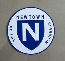 NEWTOWN UP THE BLUEBAGS Vinyl Decal Sticker RETRO RUGBY LEAGUE NRL JETS