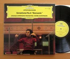 DG BRUCKNER Sinfonía no. 2530 336 4 Chicago Symphony casi como nuevo romántico Barenboim
