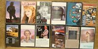 ♫ Lot of 12 Country Cassette Tapes Statler Bros Tillis Wynonna Dottie Kenny ♫