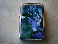 THE JOKER SMILE CAMERA STAR BRAND LIGHTER BATMAN & EXTRA ZIPPO FLINTS