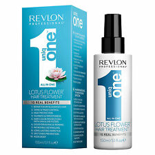 Revlon UNIQ 1 LOTUS FLOWER Hair Treatment Spray Conditioner Unique One 150ML