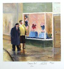 """Des Brophy """"dream on!"""" retraités lingerie signé ltd! taille: 41cm x 40cm neuf rare"""