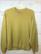 Tommy Bahama Men's Size L 100% Cotton Heavier V-Neck Pullover Sweater Shirt B19