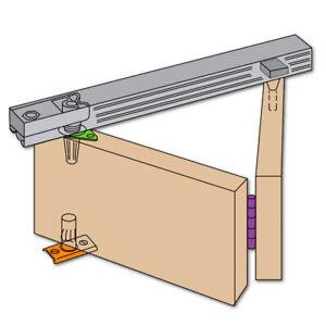 HENDERSON B15/4 Bifold Folding Track Sliding Door Gear - 1525mm