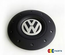 NEW Genuine VW AMAROK 10-16 Transporter 03-16 1 Pcs Roue Alliage Center Casquette Noir