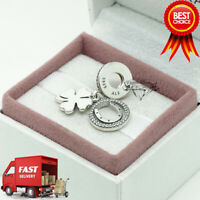 Pandora, Lucky Day, Flower, Pendant, Bracelet Charm 792089CZ