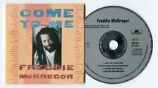 FREDDIE McGREGOR MAXI CD Come To Me 1988 CARD SLEEVE UK 4-track 887 339-2 Remix