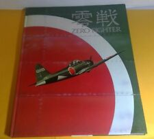 """1981 """"ZERO FIGHTER"""" JAPANESE HARDCOVER BOOK LARGE SIZE WITH FOLD-OUT PAGES"""