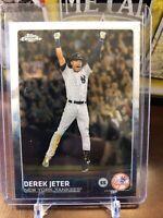 2015 Topps Chrome Derek Jeter Last Card! New York Yankees #1