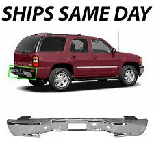 NEW Chrome Steel Rear Bumper for 2000-2006 Chevy Suburban Tahoe GMC Yukon 00-06