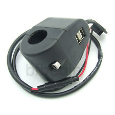 Waterproof Motorcycle Mobile Phone GPS USB Power Supply Port Socket Charger 12V