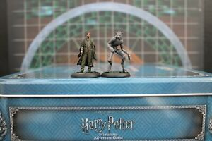 Knight Models-Harry Potter Remus Lupin & Werewolf form well painted minis (2)