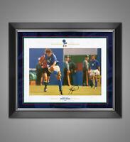 Roberto Baggio Signed & Framed 12X8 Photo Italia Genuine Autograph AFTAL COA