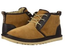 NEW UGG 2019 MEN NEUMEL BOOTS SHOES CHESTNUT BROWN PURE WOOL AUTHENTIC 1095351