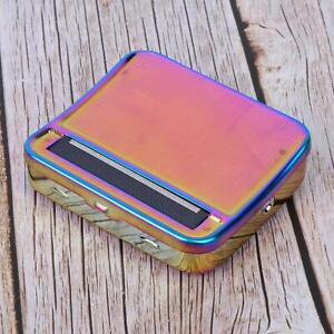 Cigarette Rolling Box Colorful Semi-automatic Adjustable Roller Smoking Supplies