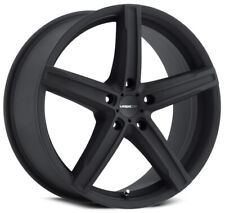 17x7 Satin Black Wheels Vision 469 Boost 5x110 38 (Set of 4)