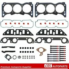 New 92-93 Buick Oldsmobile Pontiac 3.3L 204 Cylinder Head Gasket Set + Bolts Kit