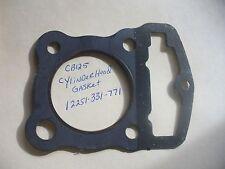 Honda NOS Cylinder Head Gasket 1976-78 CB125 SL125 CL125  12251-331-771   #5438