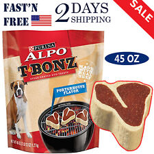 Purina ALPO T-Bonz Brand Dog Treat 45 oz Steak Dog Snacks Dog Foods