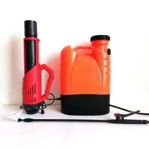 16L Rechargable Battery Fogger Electrostatic ULV Disinfection Sprayer Air Blower