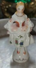 Vintage Colonial Woman Made In Japan Ceramic