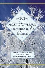 101 Most Powerful Proverbs in the Bible (Hardback or Cased Book)