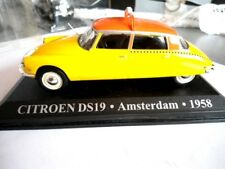 CITROEN DS 19 , AMSTERDAM , 1958 TAXI DU MONDE ALTAYA 1/43 METAL