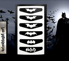 Batman Logo Contrôleur PS4 Lumière Bar 6x Vinyl Decal Sticker PlayStation 4 Peau