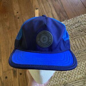 CIELE ATHLETICS Unisex Mesh Running Cap Hat Blue Adjustable Coolwick