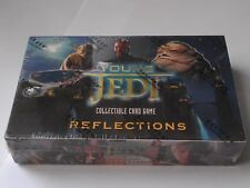 Star Wars Young Jedi ccg ultra rare sealed YJR Reflections booster box