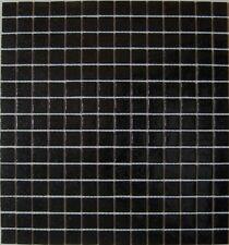 Mosaik schwarz black mit Spots Glasmosaik Fliese Bad Dusche Art: 50-0302   1qm