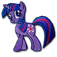 Twilight Sparkle Little Pony Patch Iron on Cute Horse Retro Boho Motif Kids Sew