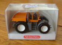Voiture échelle 1:87 HO train WIKING Tracteur Fendt Xylon neuf ref3800229