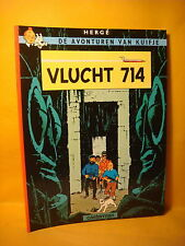 Strips Kuifje Vlucht 714 Herge 1997 Soft cover