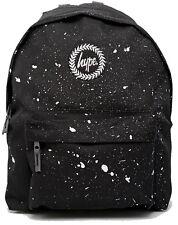 Hype Black White Speckle Backpack Bag  - School Bags - FREE POST - Rucksack