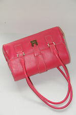 $1500! NEW LAMBERTSON TRUEX TOTE PEBBLE LEATHER PINK BAG
