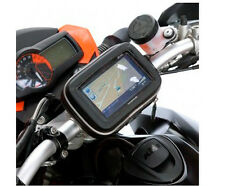 Waterproof Moto Bike Bicycle GPS Case Bag with Stand Mount for SAT NAV Navman