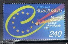 Europa Sympathy 2001 Armenië 433 toetreding Raad van Europa cat waarde € 2,50