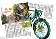 vintage TERROT (France) MOTORCYCLE Article / Photo's / Pictures