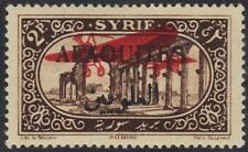 Syria-Alaouites 1926 Sg 44 2pi Avec Rouge Plat Imprimé Sur Tous les Deux Côtés A