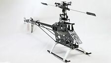 RC remote 6ch 3D Helicopter 550E V2  6ch Kit carbon fiber for align trex heli