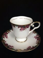 Hoya Bone China Tea Cup/Saucers - Made in Japan - 4 available