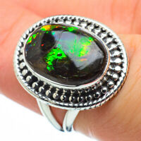 Ammolite 925 Sterling Silver Ring Size 6.25 Ana Co Jewelry R29210F