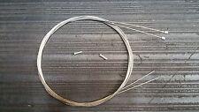 GENUINE Shimano STI Stainless Steel Gear Inner Cable Dura-Ace Ultegra ( pair )