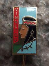 Red Vinnetou Winnetou Apache American Indian Karl May Films & Books Pin Badge