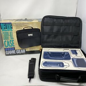 Sega Game Gear Deluxe Carry-All Case W/ Box Open Box Never Used