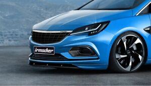 Original Irmscher Opel Astra K Calandre Aspect Acier Inoxydable