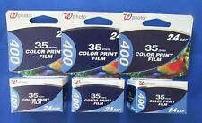 Walgreens 35mm Color Disposable cameras 3 Lot