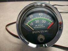 Pontiac Console tach, Bonneville, Catalina, Grand Prix, original GM tachometer